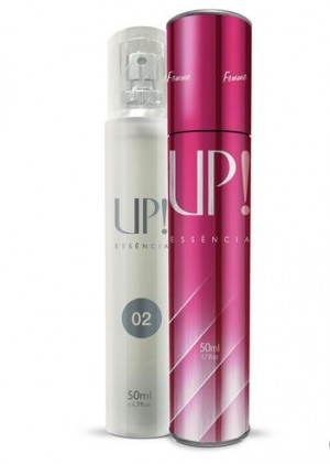 Perfume 50ml - UP! 02 - Feminino - Concorrente Importado 212 Sexy